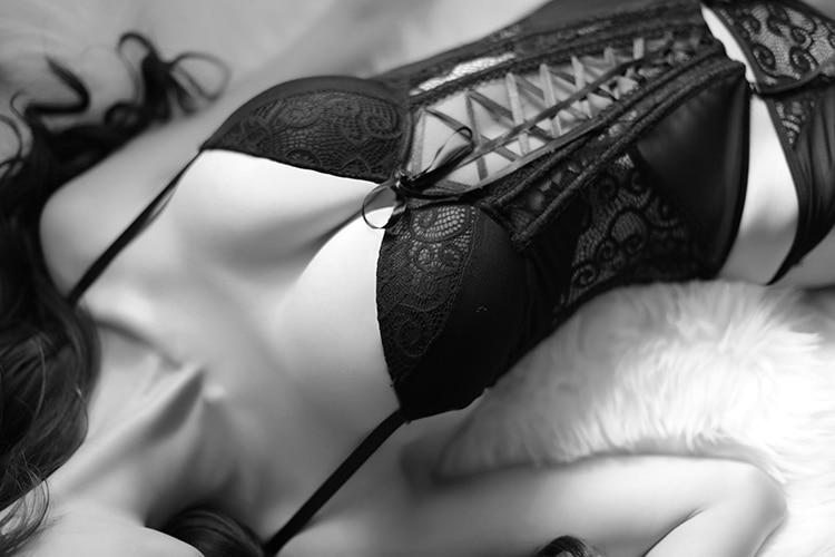 Women's Lace Up Back Corset