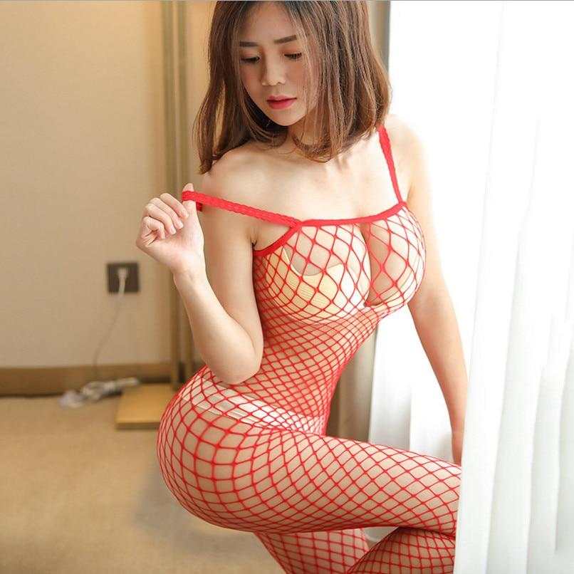 Erotic Fishnet Mesh Bodystockings