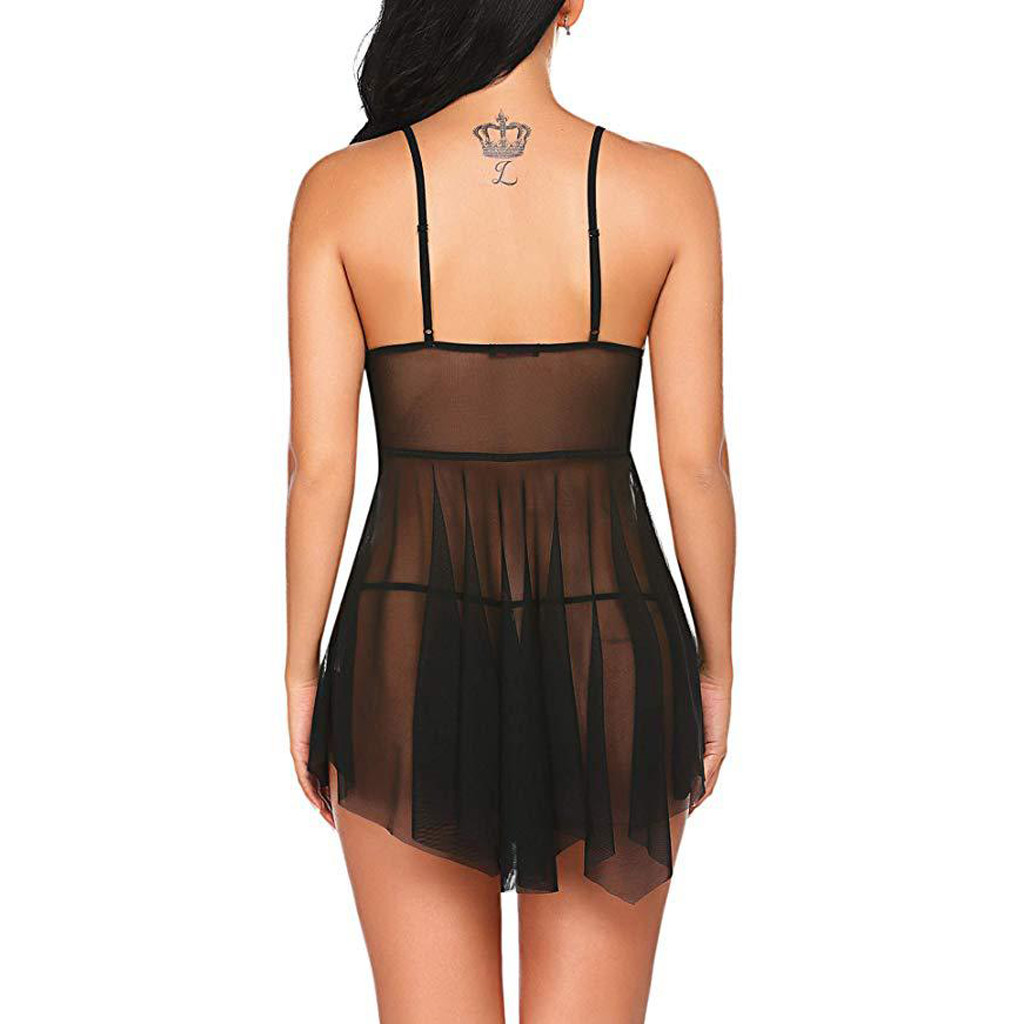 Sexy Mini Nightgowns for Women